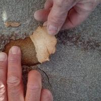 Failing polyurea NCS system