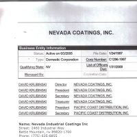 Listing of NCS