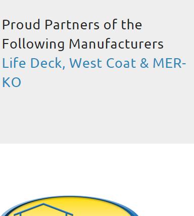 DeckTech manufacturers 1 14 16