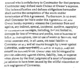 indemnification & defense 2
